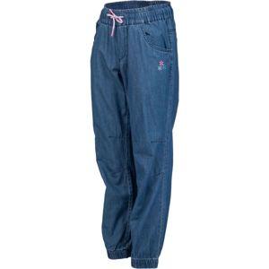 Lewro SHINA modrá 128-134 - Dívčí kalhoty