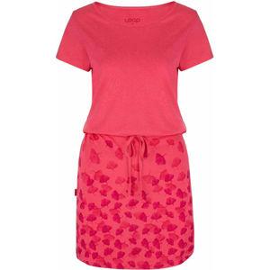 Loap ASCALA růžová XS - Dámské šaty