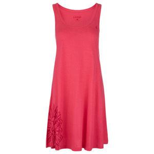 Loap ASTRIS růžová S - Dámské sportovní šaty