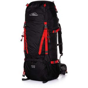Loap ATLAS 70+10 červená NS - Turistický batoh