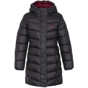 Loap INDORKA tmavě šedá 112-116 - Dívčí kabát