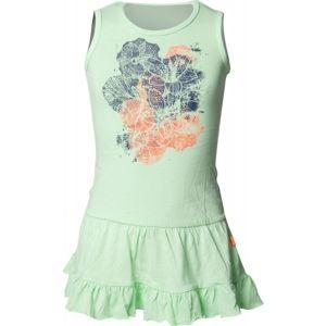 Loap IRISANA zelená 112-116 - Dívčí šaty