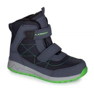 Loap DAREN modrá 29 - Dětská zimní obuv
