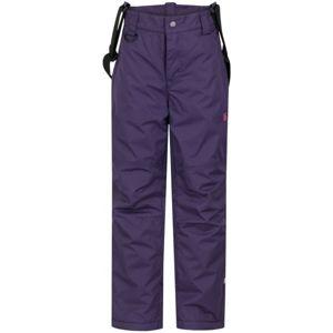 Loap ZULA fialová 140 - Dětské zimní kalhoty