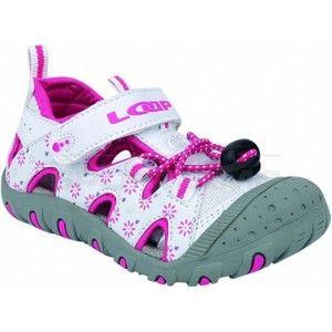 Loap LILY bílá 34 - Dětské sandály