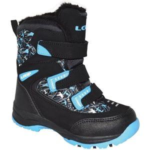 Loap NAO černá 24 - Dětské zimní boty
