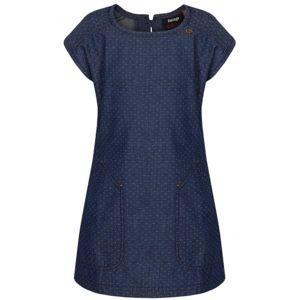 Loap NELKA tmavě modrá 122-128 - Dívčí šaty