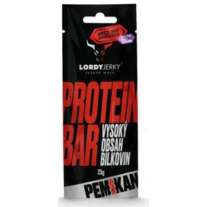 LORDYJERKY HOVĚZÍ PROTEIN BAR ŠVESTKA  NS - Proteinová tyčinka