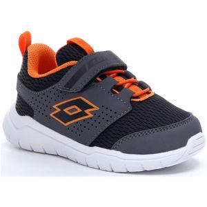 Lotto SPACEULTRA INF SL černá 24 - Dětské volnočasové boty