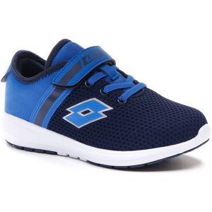 Lotto CITYRIDE AMF EVO III CL SL modrá 28 - Dětská volnočasová obuv