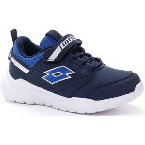 Lotto SPACEBREEZE CL SL černá 31 - Dětská volnočasová obuv