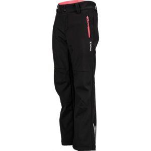 Lotto DAREK černá 152-158 - Dětské softshellové kalhoty