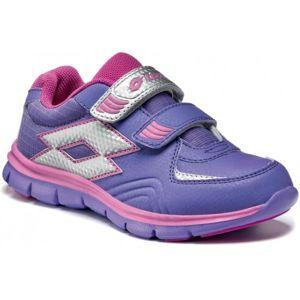 Lotto SUNRISE IV CL S fialová 35 - Dětská sportovní obuv
