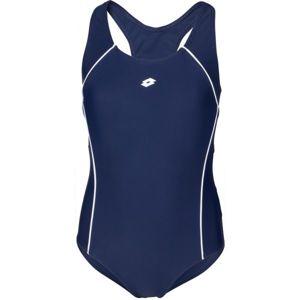 Lotto LANIE tmavě modrá 152-158 - Dívčí jednodílné plavky