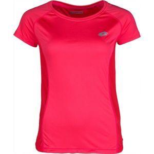 Lotto XRIDE III TEE RGL W růžová XL - Dámské sportovní triko