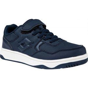 Lotto TRACER NU CL SL modrá 34 - Chlapecká volnočasová obuv
