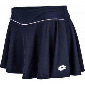 Lotto TEAMS SKIRT PL W tmavě modrá L - Dámská tenisová sukně
