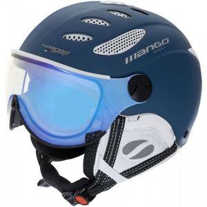 Mango CUSNA VIP bílá (55 - 57) - Unisex lyžařská přilba s visorem