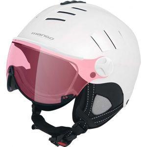 Mango VOLCANO VIP bílá (59 - 61) - Dámská lyžařská přilba s visorem