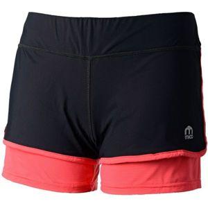 Mico W SHORTS BRIEF INSERT černá XS - Dámské běžecké šortky