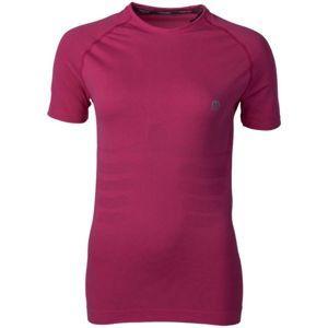 Mico W HALF SLVS R/NECK SHIRT SKIN růžová 3 - Dámské funkční triko