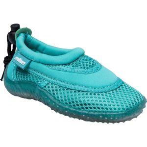 Miton BYRON zelená 32 - Dětské boty do vody