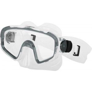 Miton TRITON šedá NS - Potápěčská maska