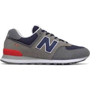 New Balance ML574EAD šedá 8 - Pánská volnočasová obuv