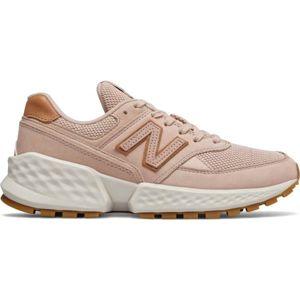 New Balance WS574ADA světle růžová 5 - Dámská volnočasová obuv