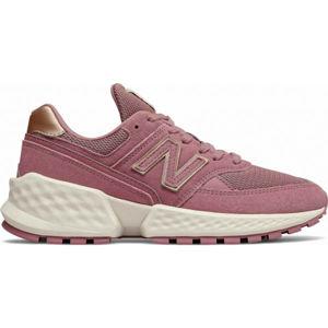New Balance WS574ATG růžová 4.5 - Dámská volnočasová obuv