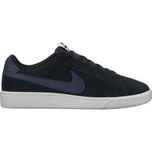 Nike COURT ROYALE SUEDE černá 9.5 - Pánská obuv