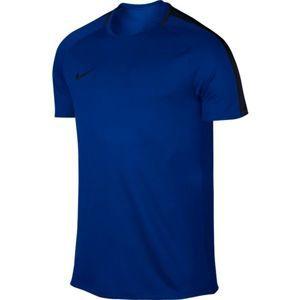 Nike ACADEMY TOP SS modrá XXL - Pánské fotbalové triko