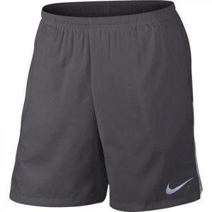 Nike FLX 2IN1 šedá XL - Pánskéběžecké kraťasy