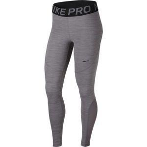 Nike NP TGHT NEW šedá S - Sportovní legíny