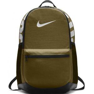 Nike BRASILIA M TRAINING tmavě zelená M - Tréninkový batoh
