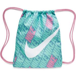 Nike KIDS PRINTED GYM SACK modrá NS - Dětský gymsack