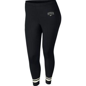 Nike NSW LGGNG VRSTY PLUS SIZE bílá 1x - Dámské legíny
