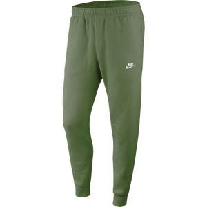Nike NSW CLUB JGGR BB M zelená M - Pánské kalhoty