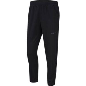 Nike RUN STRIPE WOVEN PANT M černá M - Pánské běžecké kalhoty