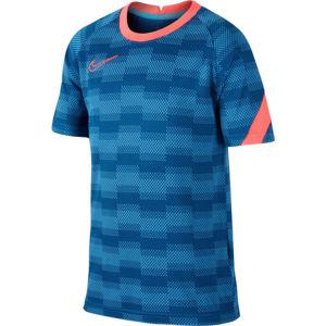 Nike DRY ACDPR TOP SS GX FP B modrá XL - Chlapecké fotbalové tričko