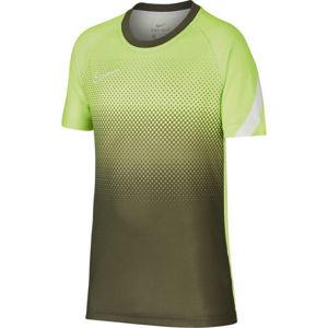 Nike DRY ACD TOP SS GX FP zelená XS - Chlapecké fotbalové tričko
