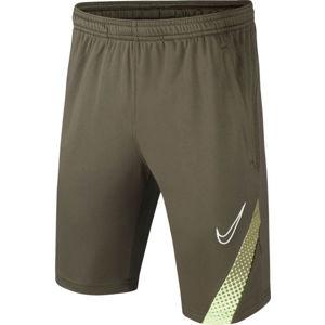 Nike DRY ACD M18 SHORT B tmavě zelená L - Chlapecké fotbalové šortky