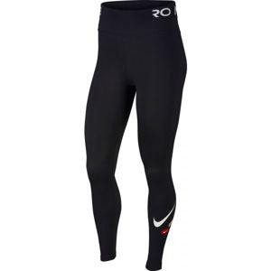 Nike ONE TGHT ICNCLSH W černá XS - Dámské legíny