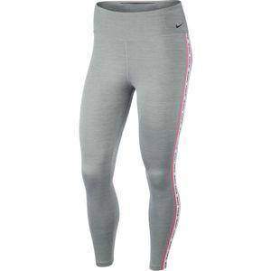 Nike ONE TGHT CROP NOVELTY W šedá S - Dámské legíny
