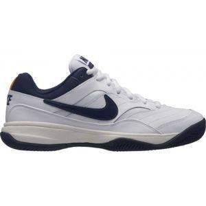 Nike COURT LITE CLAY bílá 9 - Pánská tenisová obuv