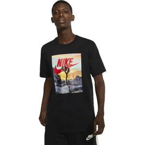 Nike NSW TEE FESTIVAL PHOTO M  S - Pánské tričko