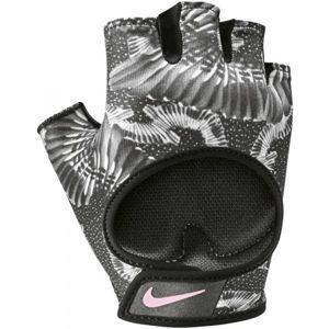 Nike GYM ULTIMATE FITNESS GLOVES šedá S - Dámské fitness rukavice
