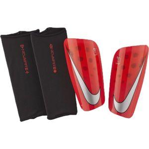 Nike MERCURIAL LITE červená XL - Pánské fotbalové chrániče