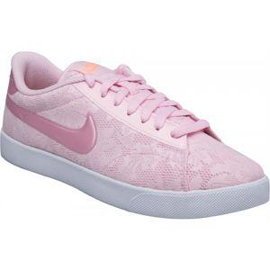 Nike RACQUETTE 17 ENG W světle růžová 8.5 - Dámská obuv