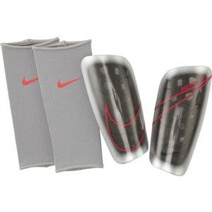 Nike MRCURIAL LITE bílá XL - Pánské fotbalové chrániče
